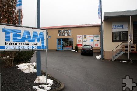 Im Jahr 1995 wurde das Unternehmen TEAM-Industriebedarf gegründet. Es residiert am Siemensring in Kall und hat 28 Mitarbeiter. Foto: Thomas Schmitz/pp/Agentur ProfiPress