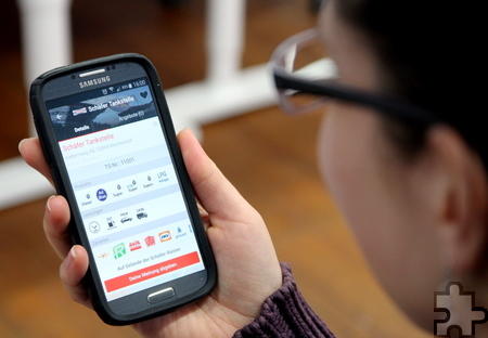 Seit Kurzem finden Smartphone-Nutzer die Tank-Netz-App im App-Store der iOS- und im PlayStore der Android-Geräte. Foto: Thomas Schmitz/pp/Agentur ProfiPress