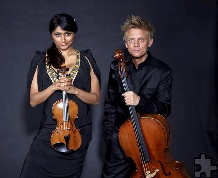 Das Aditya-Duo tritt am Freitag, 24. März, 18 Uhr, im Kreiskrankenhaus Mechernich auf. Foto: Aditya-Duo/pp/Agentur ProfiPress