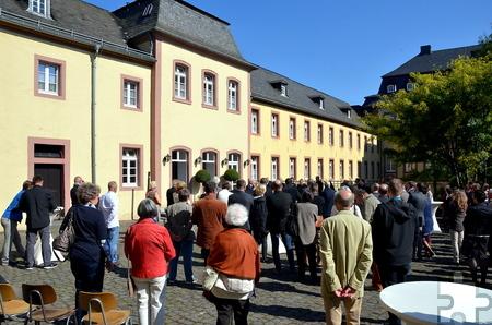 Mehr als 200 Ehrengäste nahmen im September 2015 an der Einweihung des Gästehauses teil. Foto: Manfred Lang/pp/Agentur ProfiPress