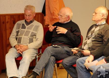 Die Besucher gaben während der ersten Sitzung doch private Details preis. Foto: Thomas Schmitz/pp/Agentur ProfiPress