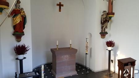 Der Innenraum der Felser Kapelle. Foto: Michael Nielen/pp/Agentur ProfiPress