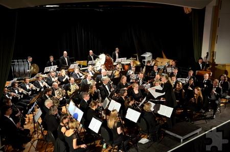 Bereits im November 2014 gastierte die Rheinische Bläserphilharmonie im Gemünder Kurhaus. Foto: Manfred Lang/pp/Agentur ProfiPress