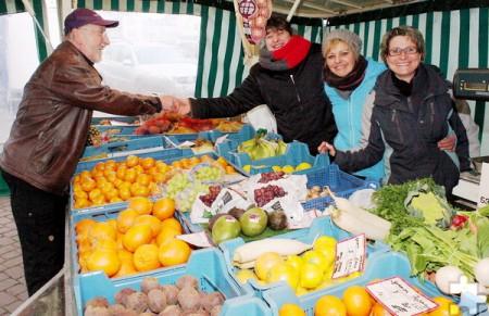 In der Woche vor Ostern findet der Mechernicher Wochenmarkt ausnahmsweise am Donnerstag statt. Archivfoto: Steffi Tucholke/pp/Agentur ProfiPress