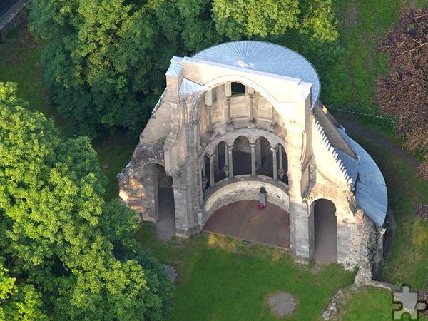 Das Kloster Heisterbach – hier die Klosterruine – in Königswinter ist Ziel der Familienwallfahrt des Erzbistums Köln, an der sich auch die Familien der GdG Mechernich beteiligen können. Foto: Wolkenkratzer/Wikipedia