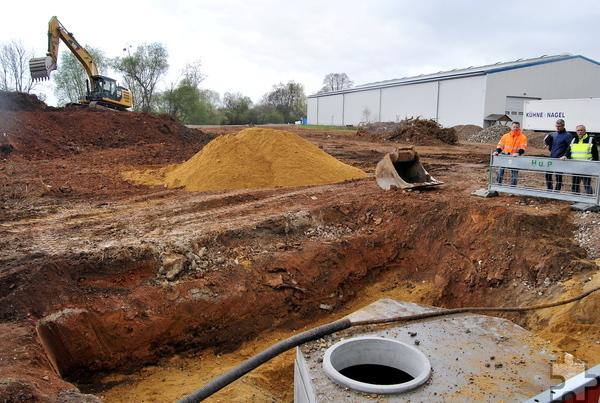 Auf insgesamt 2,5 Millionen Euro belaufen sich die Baukosten für den Straßenbau und die gesamte Kanalisation. Foto: Renate Hotse/pp/Agentur ProfiPress