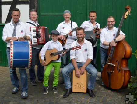 """Die Mundartgruppe """"De Vänte"""" tritt am 20. Mai, 20 Uhr, in Kallmuth auf. Foto: Privat/pp/Agentur ProfiPress"""