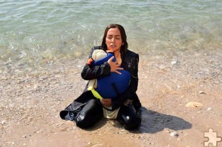 """Der Film """"Meine Heimat"""" beschreibt sehr eindrucksvoll die Flucht von Syrern über das Mittelmeer. Foto: Black2/Safwan Mostafa Nemo"""