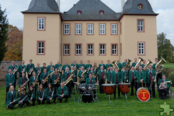 Der veranstaltende Musikverein Eicks erwartet am Pfingstwochenende wieder an die tausend Besucher zum traditionellen Burgfest. Foto: Veranstalter/pp/Agentur ProfiPress