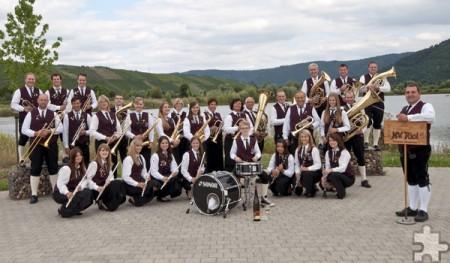 Vom schönen Moseltal wird der Musikverein Riol anreisen, um am Samstag, 20. Mai, ein Doppelkonzert mit dem gastgebenden Musikverein aus Weyer zu spielen. Foto: Privat/pp/Agentur ProfiPress