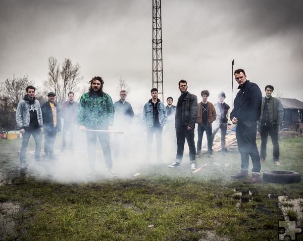 Die niederländische Neo-Brass-Band Gallowstreet wird Eupens Straßen erzittern lassen. Foto: Veranstalter/pp/Agentur PropfiPress