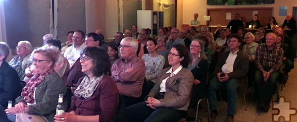 Das Publikum war vom Auftritt des Kölsch-Kultur-Kabaretts in der Eifel begeistert. Foto: Privat/pp/Agentur ProfiPress