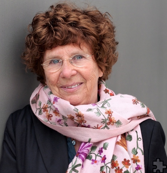 """Die deutsch-französische Autorin Sylvie Schenk liest am Dienstag, 16. Mai, um 19.30 Uhr, bei der Lit.Eifel im Monschauer Aukloster aus ihrem hochgelobten Buch """"Schnell, Dein Leben"""". Foto: Peter-Andreas Hassiepen"""