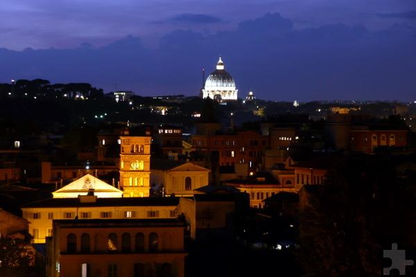 Rom soll das Ziel einer gemeinsamen Pilgerfahrt der KG Greesberger mit den Kommerner Sebastianern sein. Foto: Marion Eichinger/pp/Agentur ProfiPress